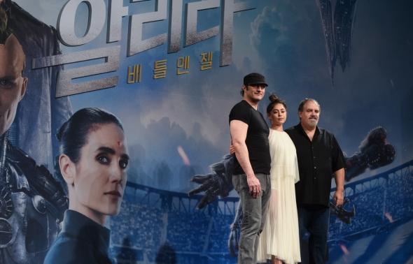 영화 '알리타:배틀엔젤' 내한한 주역들