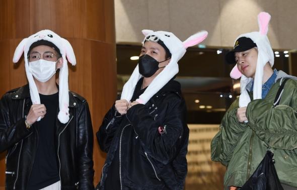 방탄소년단 뷔-제이홉-지민, 귀여움은 우리몫