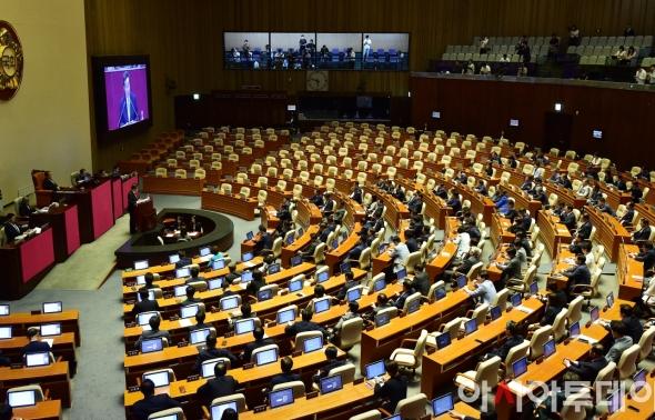 이낙연 총리 '자유한국당 불참' 속 추경 시정연설