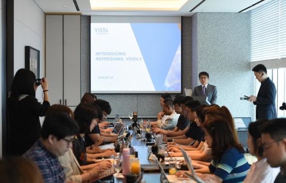비스타 워커힐 서울, 오픈 2주년 기자간담회