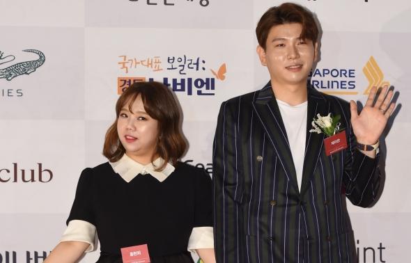 홍현희-제이쓴, 다정한 부부