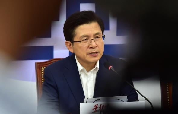 황교안 대표 ' 문 대통령이 가짜뉴스 진원지'