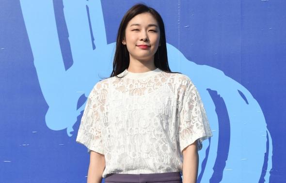 노트 어워즈 참석한 김연아