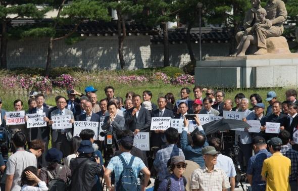 전국 대학교 3396명, '조국 교체' 촉구 시국선언