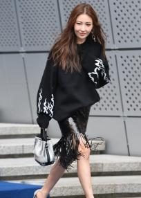 패션쇼 참석한 이사배
