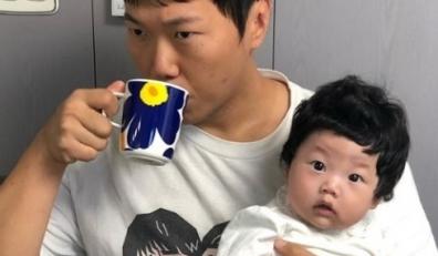 """송진우, 딸과 함께한 일상 """"일어나자마자 전투 준비"""""""