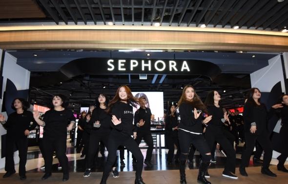 세포라, 한국 첫 매장 공식 오픈