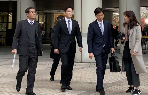 '국정농단' 파기환송심 2차 공판 마친 이재용