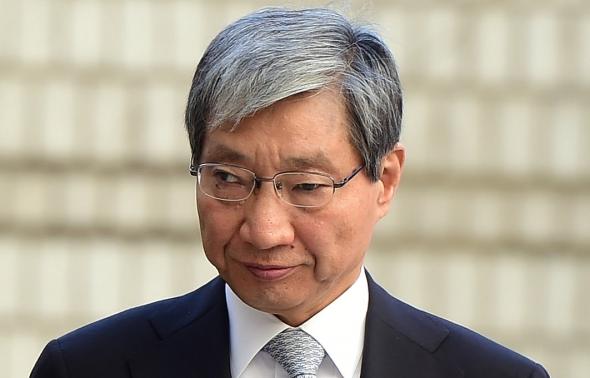 법정 향하는 장충기 전 삼성 미래전략실 사장