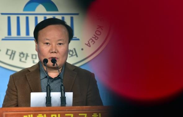 김재원 '예산안 4+1 심사 세금 도둑질'