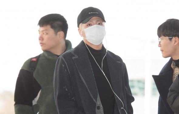 아이콘 구준회, '시크한 눈빛'