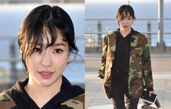티파니, 아무나 소화 못하는 군복 패션