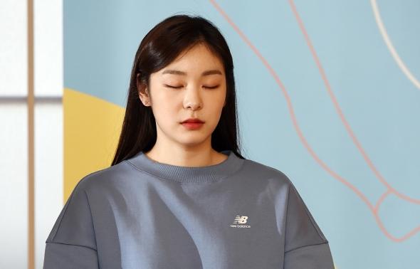 명상하는 김연아