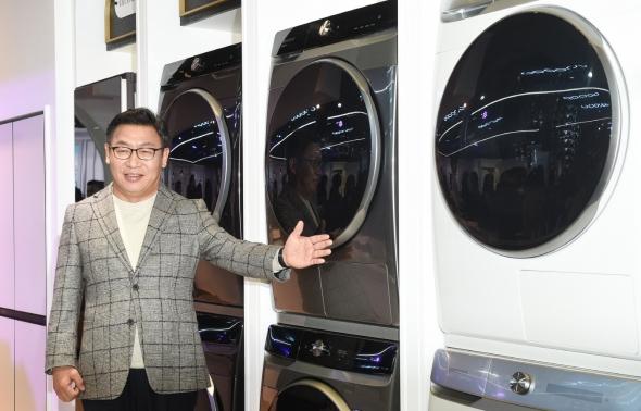 삼성전자, '그랑데 AI' 세탁기-건조기 출시