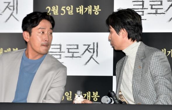 하정우-김남길, 미남들의 수다