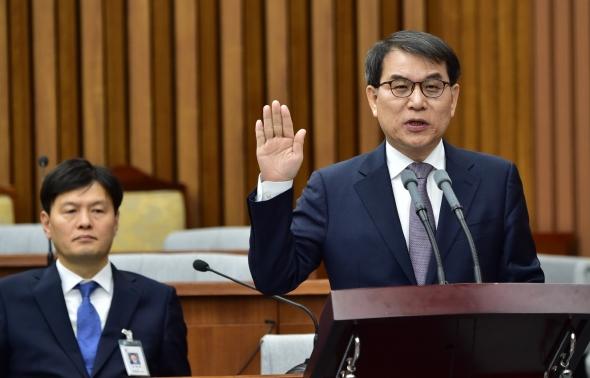 노태악 대법관 후보자 인사청문회 '선서'