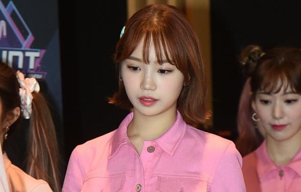 엠카, 아이즈원 김채원 '핑크핑크'
