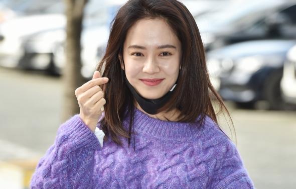 송지효, 사랑스러운 미모