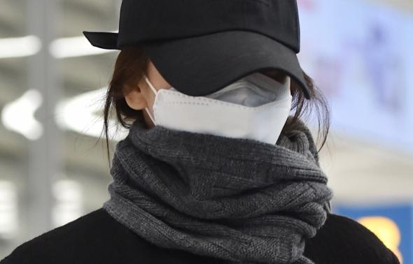 송혜교, 6개월만에 포착