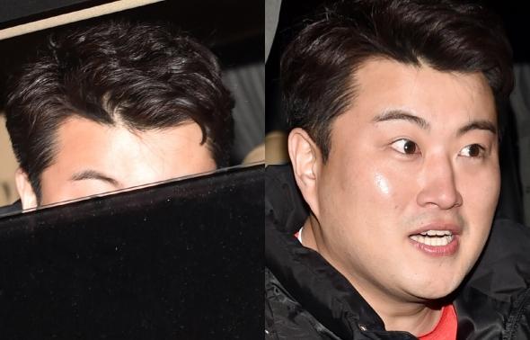 김호중, 이마부터 깜놀까지!