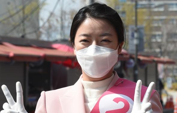 '4.15 총선 송파을' 배현진, '2번입니다'