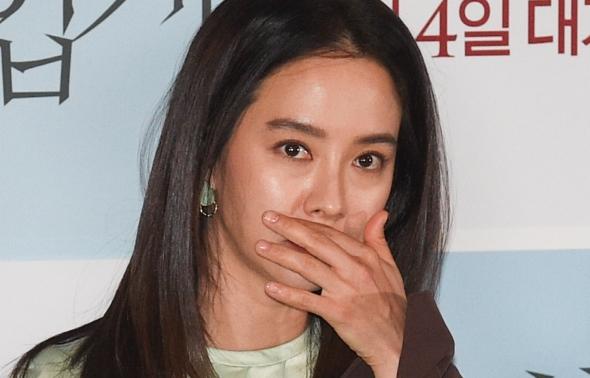 송지효, '오랜만에 인사드려요'