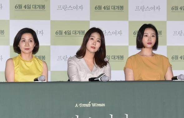 김호정-김지영-류아벨, '프랑스여자 주역들'