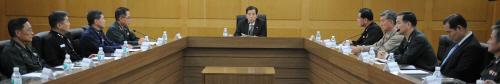 군기강 확립 5부 합동 연석회의