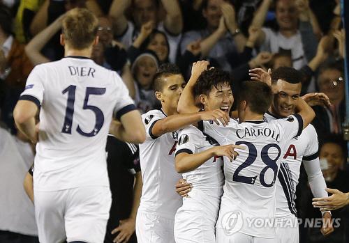 Britain Soccer Europa League <YONHAP NO-0180> (AP)
