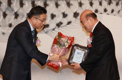 정현복 광양시장, 2017년 한국의 영향력 있는 CEO 선정