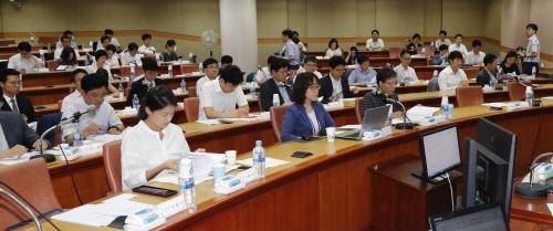 사법연수원에서 열린 2차 판사회의<YONHAP NO-1486>
