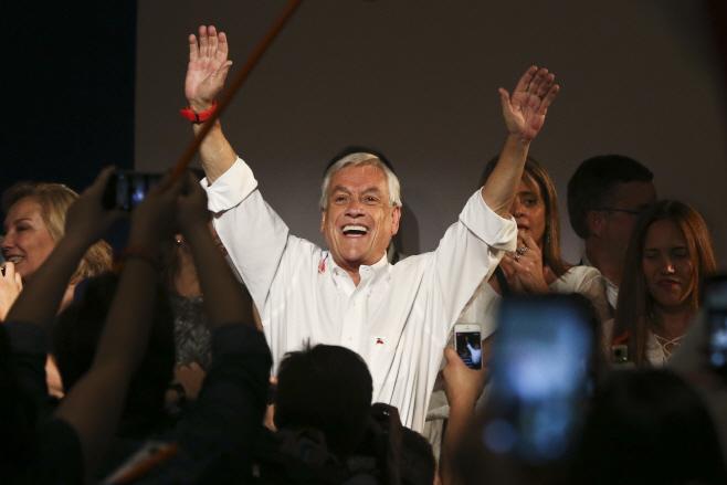 Chile Elections <YONHAP NO-2372> (AP)