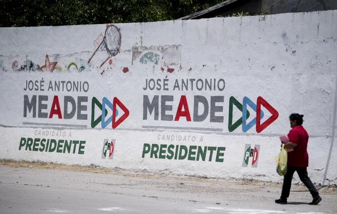 Mexico Elections <YONHAP NO-7917> (AP)