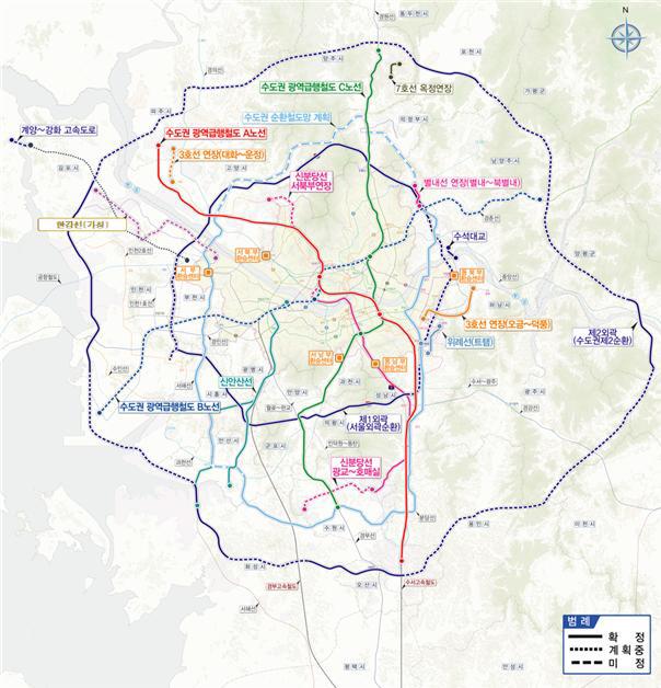 수도권 교통망