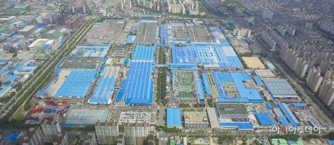 한국지엠 부평공장