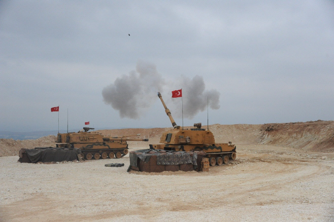 TURKEY-SYRIA-BORDER-MILITARY OPERATION