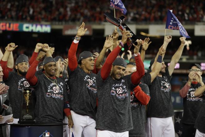 NLCS Cardinals Nationals Baseball <YONHAP NO-2655> (AP)