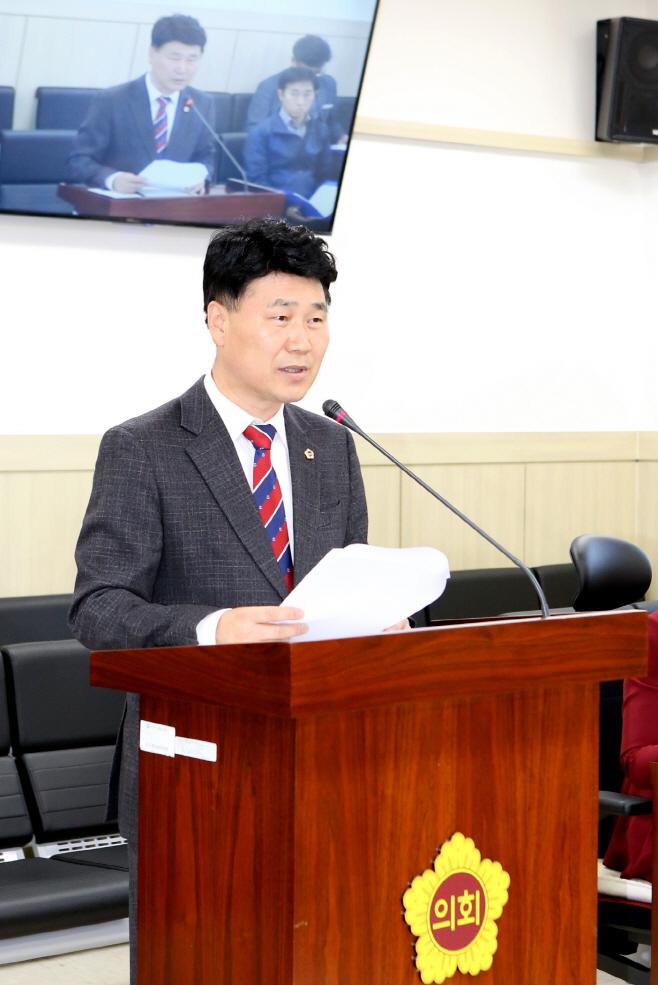 김원기 부의장, 어린이 간접 흡연 방지를 위한 조례안 발의