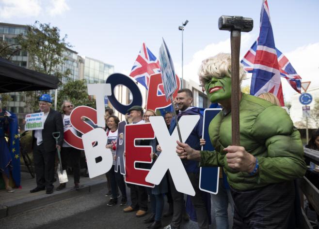 Belgium EU Brexit <YONHAP NO-4639> (AP)