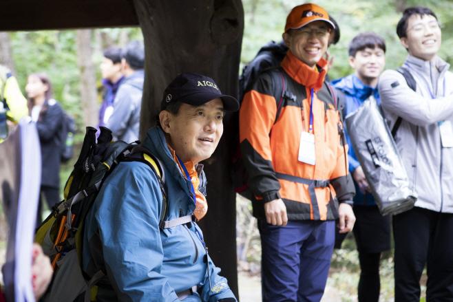 [사진자료]삼양그룹, 창립 95주년 기념 산행 실시 2019 1020