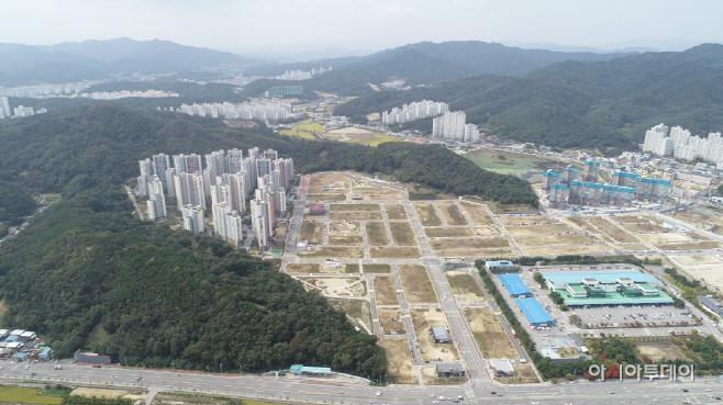구미 문성2지구 도시개발사업 완료
