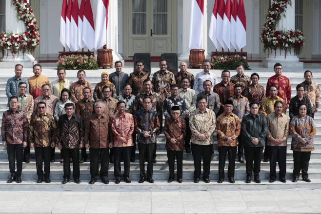 Indonesia Cabinet <YONHAP NO-2288> (AP)