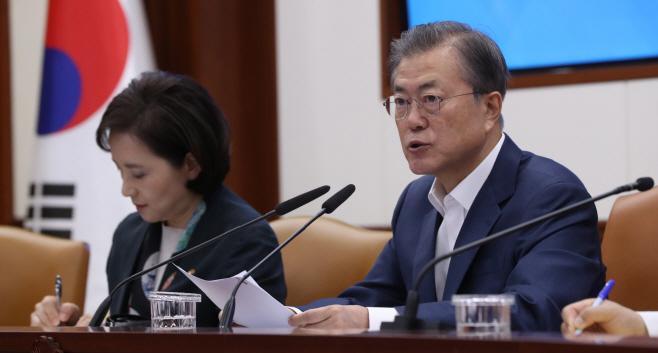 문 대통령, '대입제도 개선 논의'
