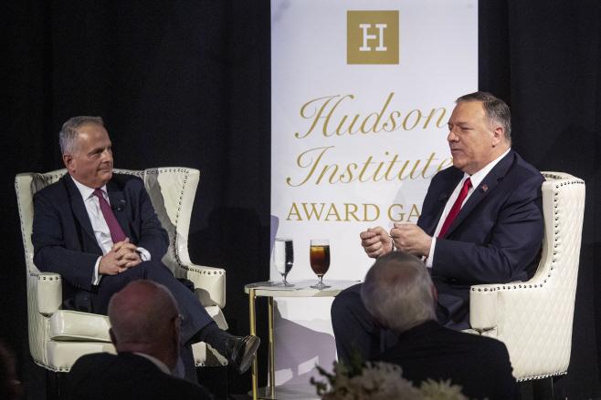 Herman Kahn Award Pompeo
