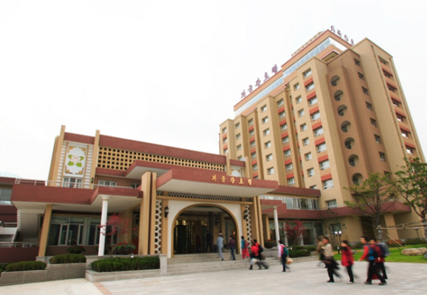 금강산관광지구 외금강 호텔