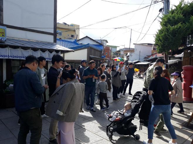 '동백꽃 필 무렵'의 촬영지인 구룡포 일본인 가옥거리를 찾은