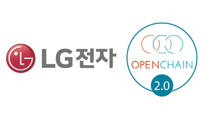 LG전자로고+오픈체인