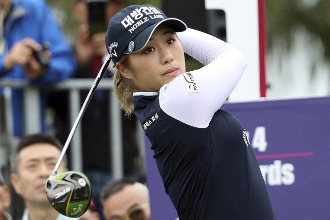 이정은, LPGA 대만 대회 첫날 공동 3... <YONHAP 번역> (AP)