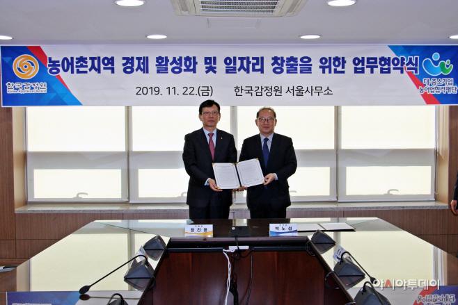 한국감정원, 농어촌지역 경제 활성화 위한 업무협약 체결