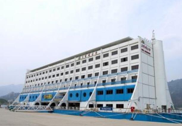 금강산관광지구 해금강 호텔